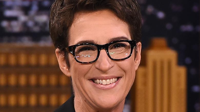 Rachel Maddow smiling