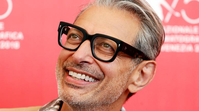 Jeff Goldblum in glasses
