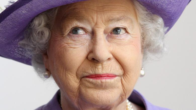 Queen Elizabeth II on royal visit