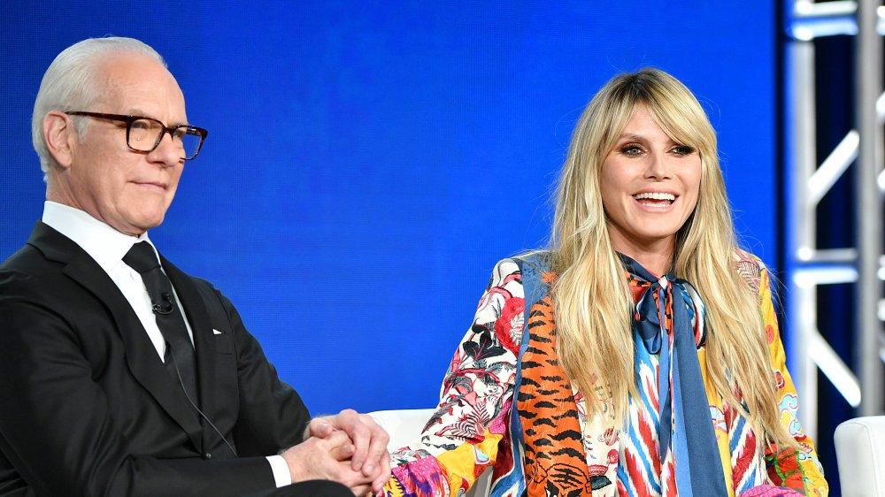 Tim Gunn and Heidi Klum