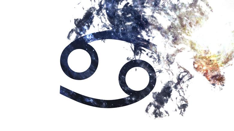Cancer zodiac sign.