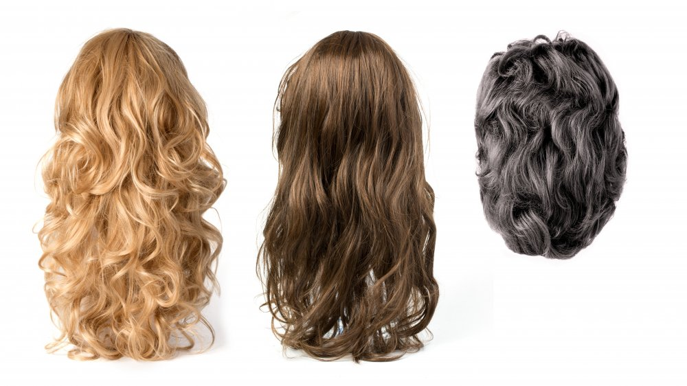 Three wigs