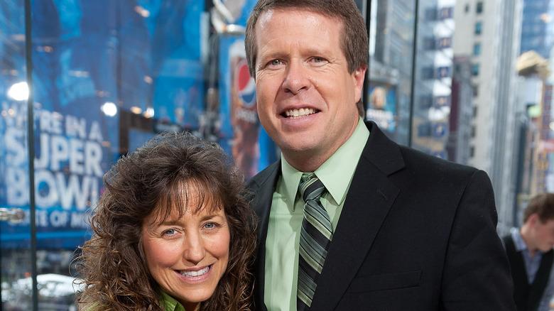 Jim Bob, Michelle Duggar smiling