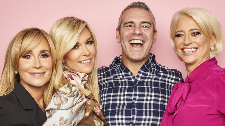 RHONY cast and Andy Cohen