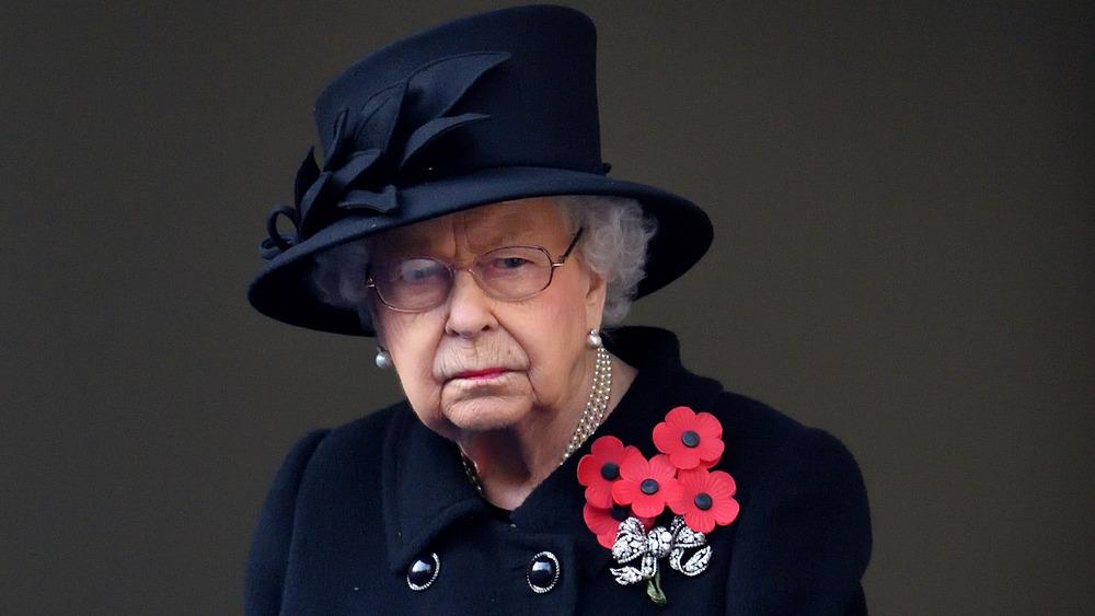 Queen Elizabeth II in a hat