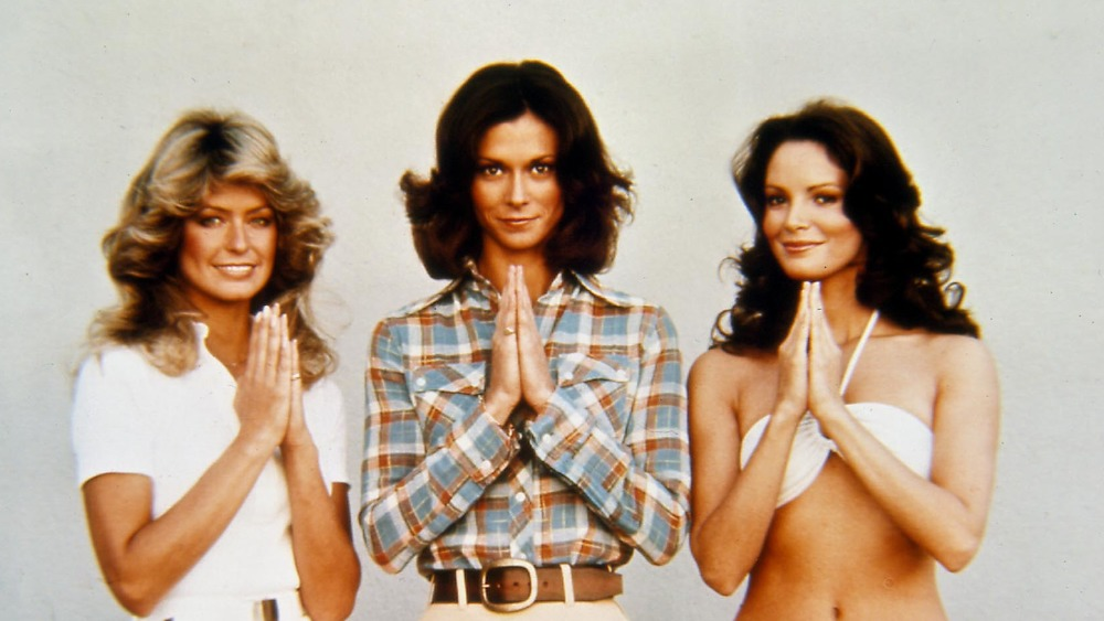 The original cast of Charlie's Angels