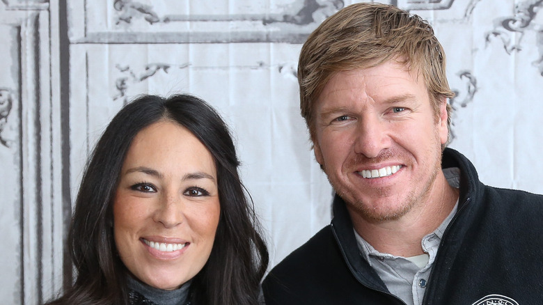 Chip & Joanna Gaines smiling