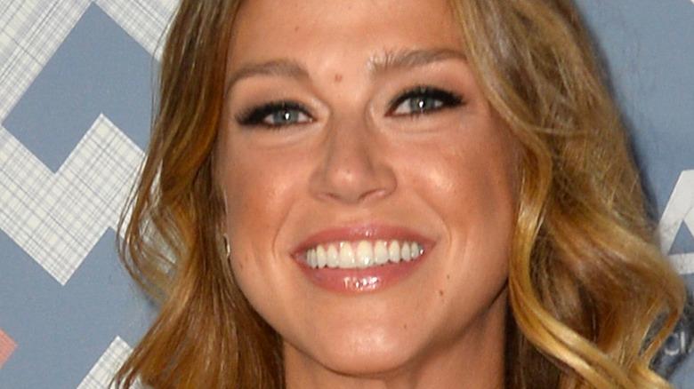 Adrianne Palicki smiling
