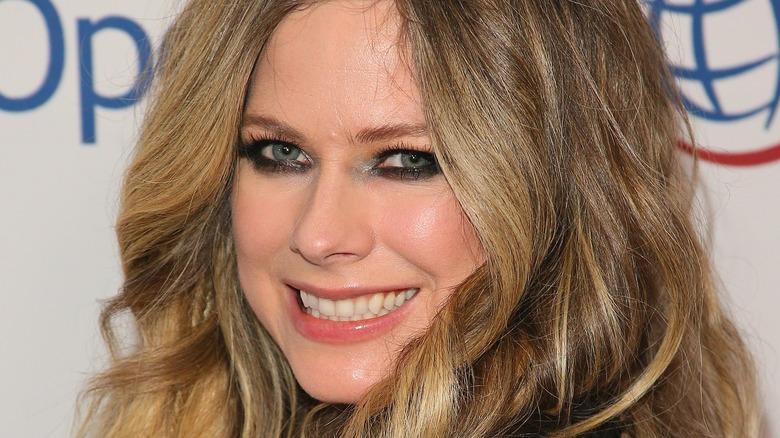 Avril Lavigne at event