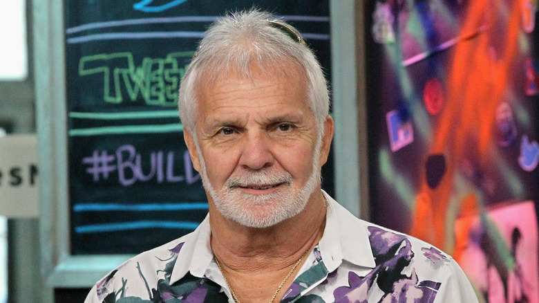 Below Deck's Captain Lee Rosbach during an interview