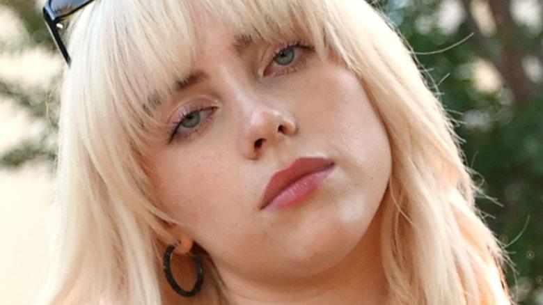 Billie Eilish attends album event