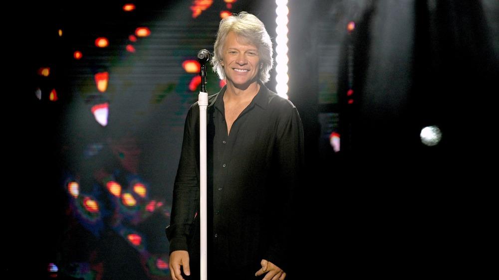 Jon Bon Jovi smiling