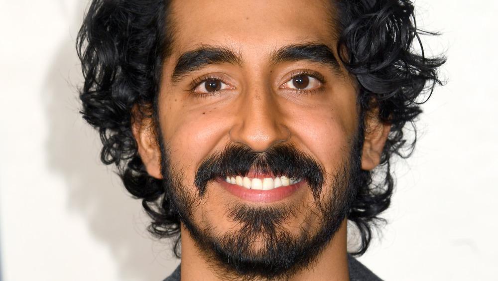 Dev Patel smiling