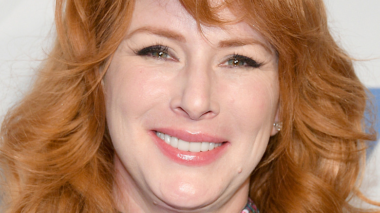 Diane Neal on the red carpet