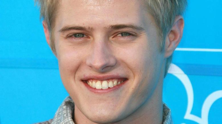 Lucas Grabeel smiling