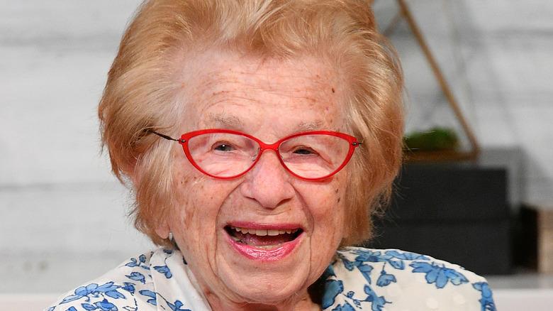Dr. Ruth Westheimer in older age