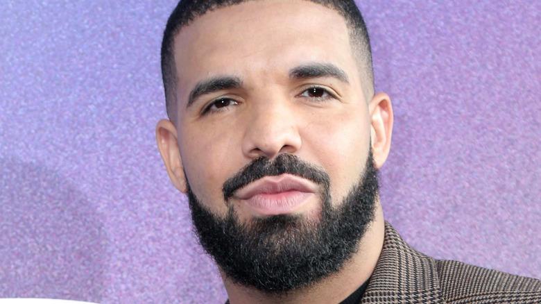 Drake at event