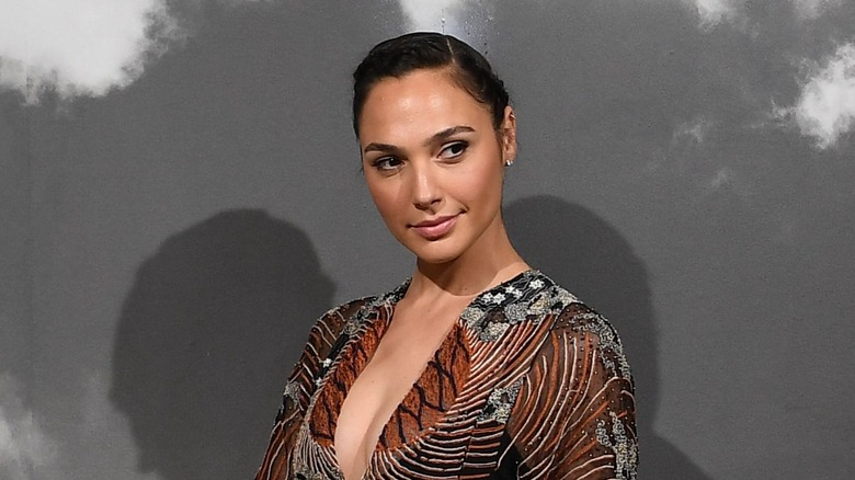 Actress and former Israeli soldier Gal Gadot