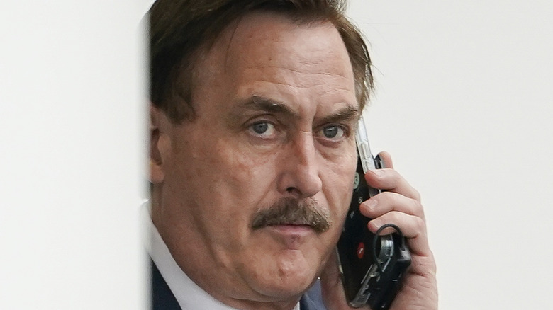 Mike Lindell on the phone