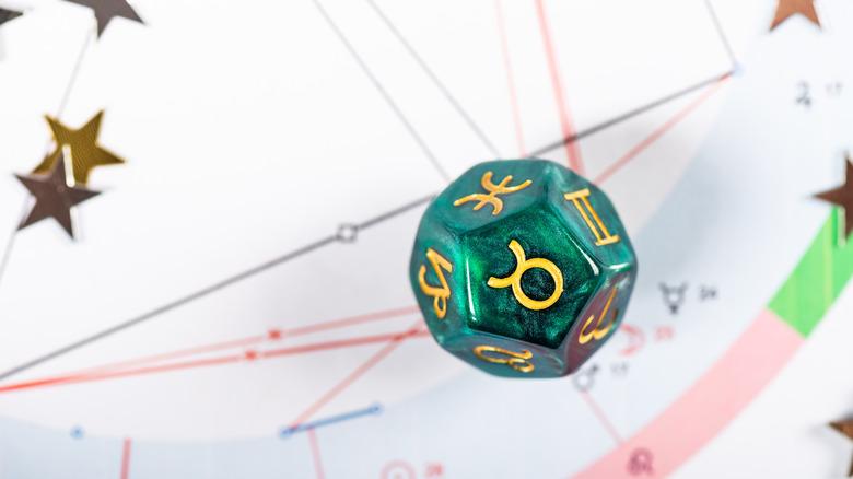 zodiac die taurus sign