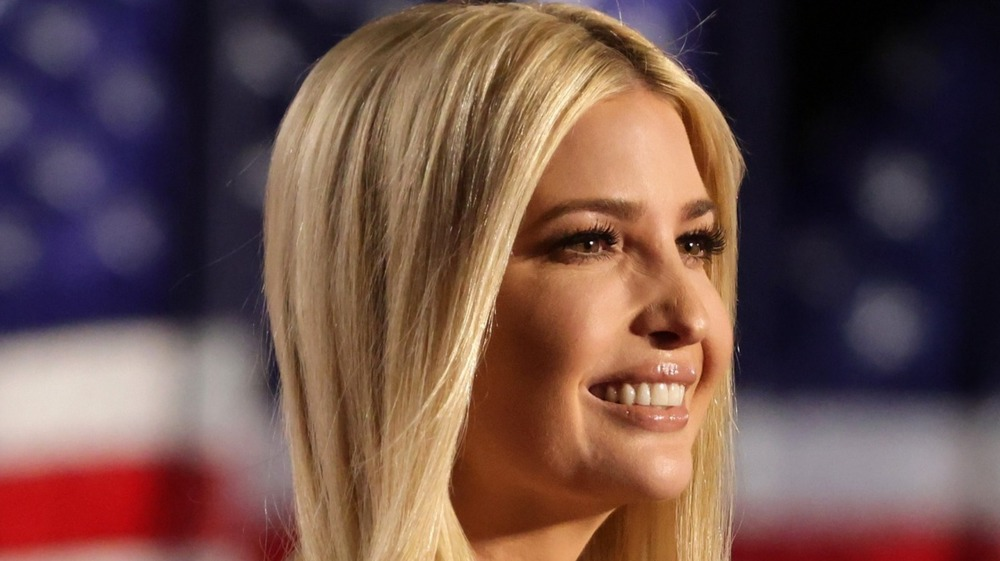 Ivanka Trump smiling