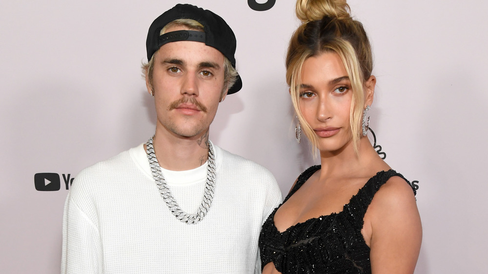 Justin Bieber with wife Hailey