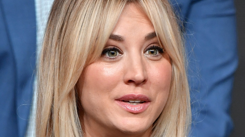 Kaley Cuoco at an event.