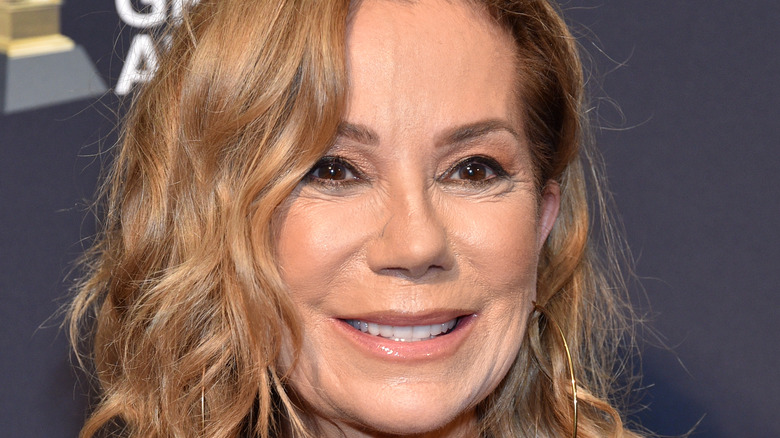 A close up of TV host Kathy Lee Gifford