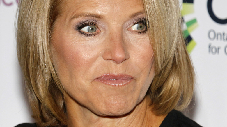close up of Katie Couric