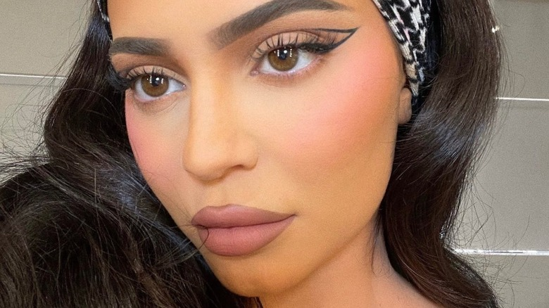Kylie Jenner takes a glamorous selfie