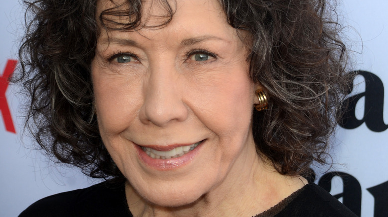 Lily Tomlin smiling