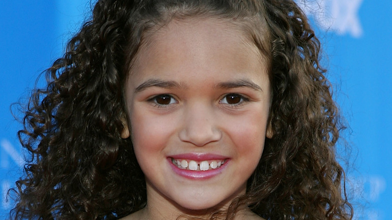 Madison Pettis smiling