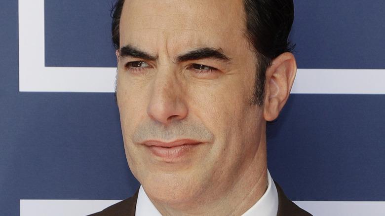 Sacha Baron Cohen at the Oscars