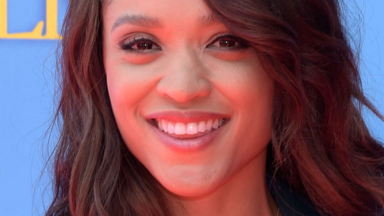 Saleisha Stowers smiling NBC event