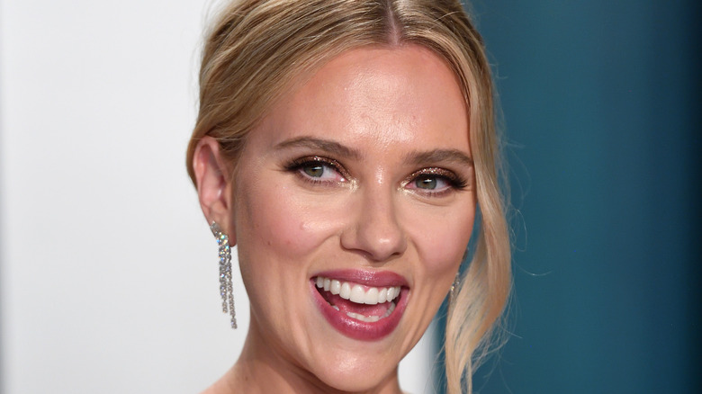 Scarlett Johansson at event