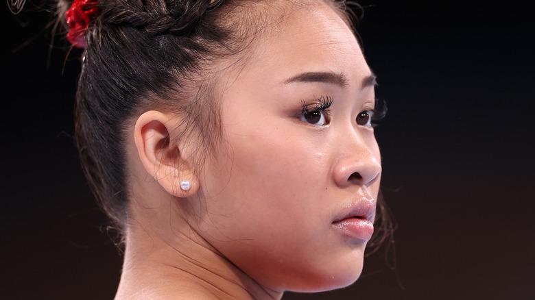 USA gymnast Sunisa Lee at the Tokyo Olympics