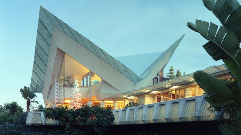 House designed by Frank Lloyd Wright