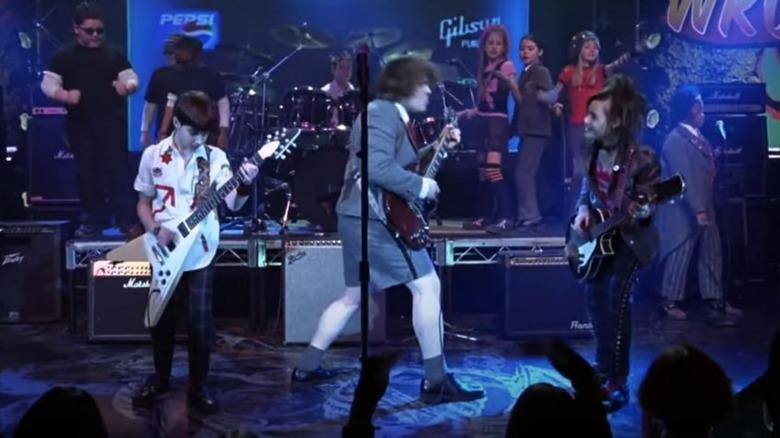 School of Rock performing