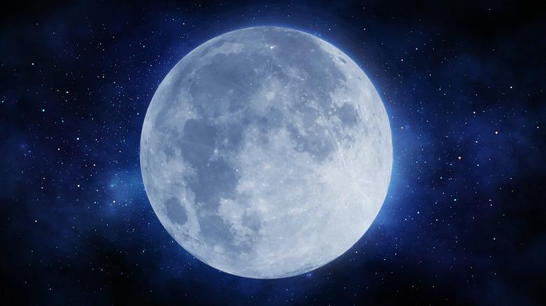 Large full moon