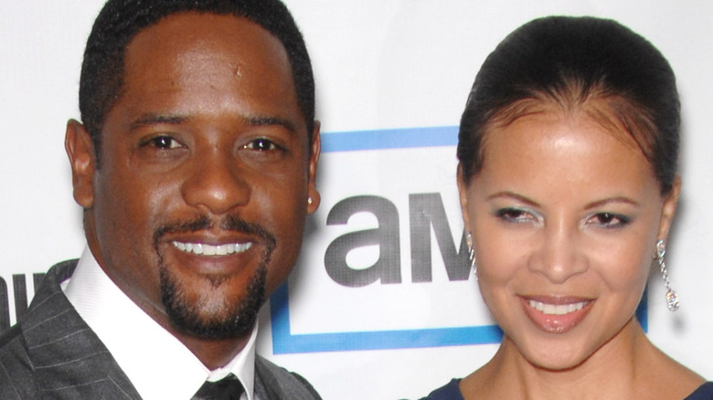 Blair Underwood and Desiree DaCosta on red carpet together