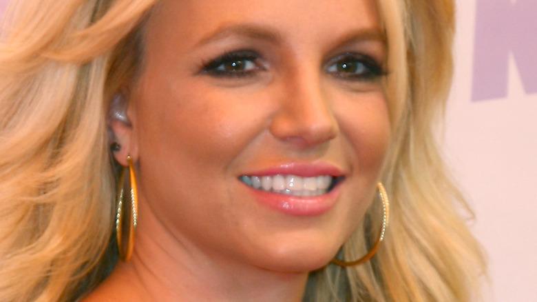 Britney Spears in black