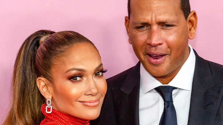 Jennifer Lopez and Aron Rodriguez