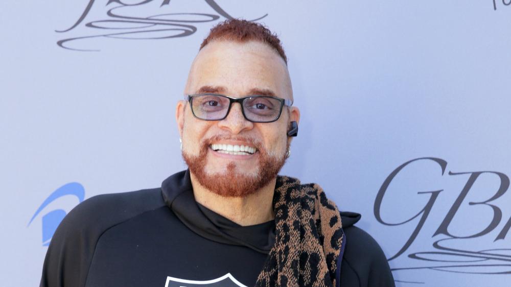 Comedian Sinbad at a recent press event