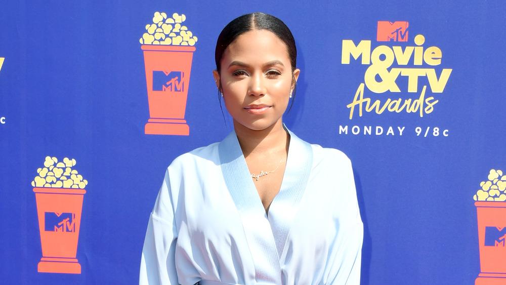 Teen Mom OG's Cheyenne Floyd poses at MTV Movie Awards