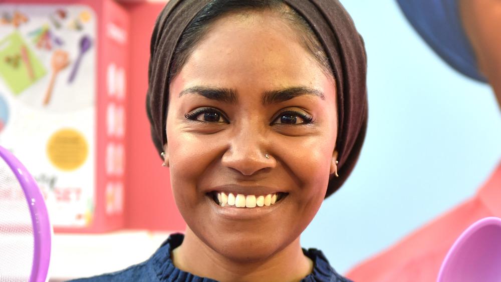 Nadiya Hussain smiling