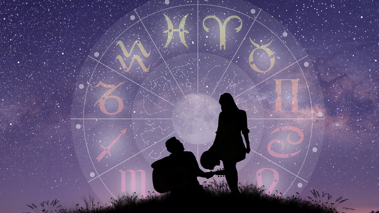 zodiac sign with love