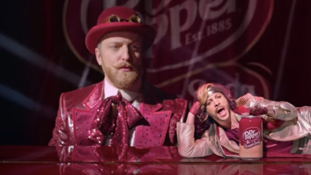 Will Green and Justin Guarini appear in Dr Pepper ad