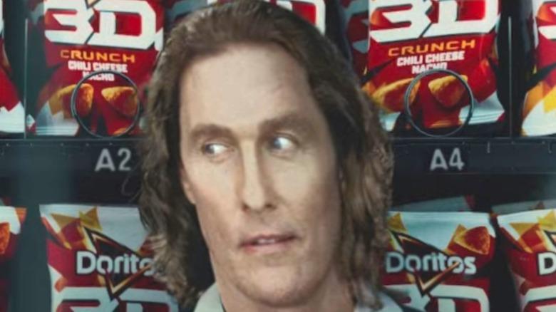 Matthew McConaughey in a Doritos ad