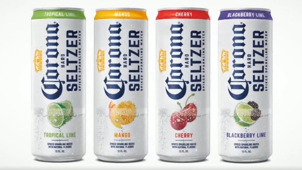 Corona Hard Seltzer product shot