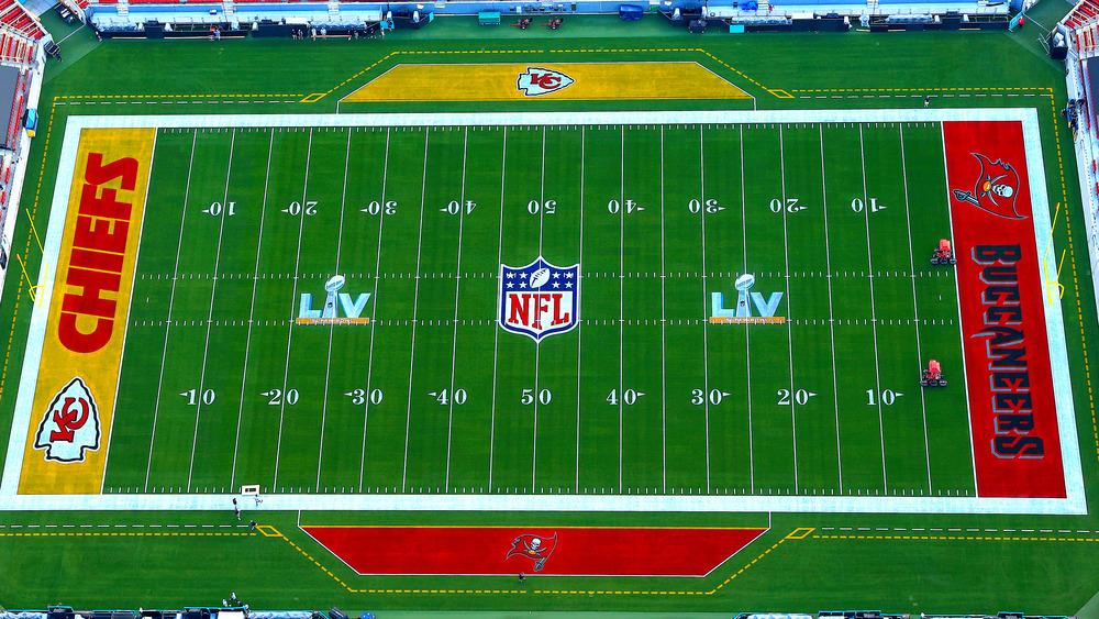 The Super Bowl 2021 field